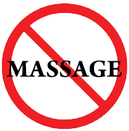 no massage